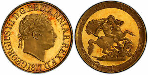 Click now to see the BUY IT NOW Price! GR. BRITAIN GEORGE III 1817 AV SOVEREIGN. PCGS PR63 DCAM SCBC 3785; W&R 196