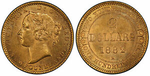 Click now to see the BUY IT NOW Price! NEWFOUNDLAND. VICTORIA 1882 H AV 2 DOLLARS. PCGS MS63 HEATON KM 5.