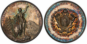 Click now to see the BUY IT NOW Price! SWITZERLAND 1842 1898 AR 26 PC SET SHOOTING FESTIVAL COINS/MEDALS PCGS SP64 MS61