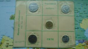 COINSET ITALY 1974