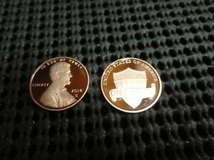2014 S PROOF LINCOLN SHIELD CENT