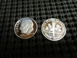 2014 S SILVER PROOF ROOSEVELT DIME