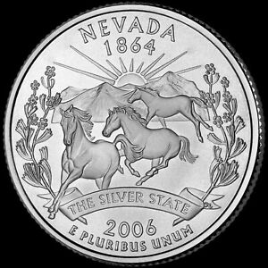 2006 P NEVADA STATE QUARTER NEW U.S. MINT