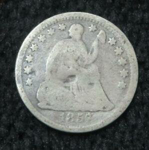 1852? HALF DIME   MYSTERY COIN   1857? 1852?   YOU DECIDE   831