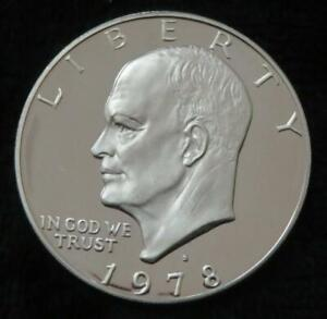 1978 S EISENHOWER PROOF DOLLAR   PROOF   SHIPS IN AN AIRTITE   BEAUTIFUL   863