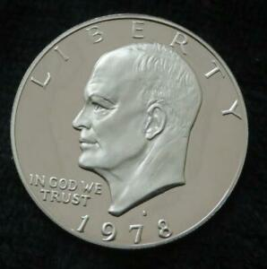 1978 S EISENHOWER PROOF DOLLAR   PROOF   SHIPS IN AN AIRTITE   BEAUTIFUL   864