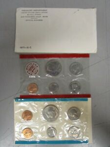 1971 UNCIRCULATED MINT SET  MB1025113