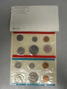 1971 UNCIRCULATED MINT SET  MB1025112