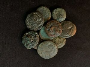 ANCIENT GREEK BRONZE COIN UNRESEARCHED AUTHENTIC   2000  YEARS OLD