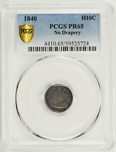 Click now to see the BUY IT NOW Price! 1840 LIBERTY SEATED H10C PCGS PR 65