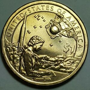 2019 D NATIVE AMERICAN DOLLAR : AMERICAN INDIANS IN THE SPACE PROGRAM BU