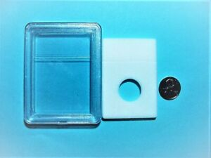 1 LARGE SIZE ONE CENT PLASTIC SLABS SIMILAR TO  THE PCGS  SLABS