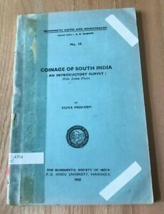 Click now to see the BUY IT NOW Price! COINAGE OF SOUTH INDIA BY VIDYA PRAKASH   PRINTED 1968