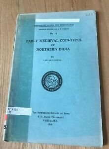 Click now to see the BUY IT NOW Price! EARLY MEDIEVAL COIN TYPES OF NORTHERN INDIA BY LALLANJI GOPAL   PRINTED 1966