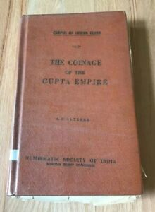 Click now to see the BUY IT NOW Price! THE COINAGE OF THE GUPTA EMPIRE BY ALTEKAR   PRINTED 1957