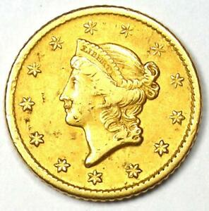 1849 O LIBERTY GOLD DOLLAR COIN G$1   XF DETAIL    NEW ORLEANS MINT COIN