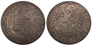Click now to see the BUY IT NOW Price! AUSTRIA. LEOPOLD I  1680 86  ND AR 2 TALER. NGC MS63 HALL. DAV. 3247; M/T 708.