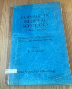 Click now to see the BUY IT NOW Price! COINAGE IN MEDIEVAL SCOTLAND  1100 1600  BY DM METCALF   PRINTED 1977