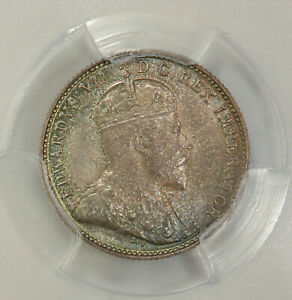 CANADA 5 CENTS 1903 H PCGS MS64