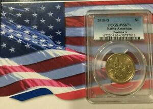 Click now to see the BUY IT NOW Price! 2018 D  POSITION A  NATIVE AMERICAN DOLLAR GREAT DETAIL PCGS GRADED MS67