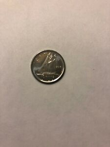 2016 CANADA 10 CENT COIN