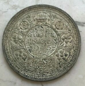 Click now to see the BUY IT NOW Price! 1945 INDIA 1 ONE RUPEE