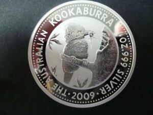 2009 AUSTRALIA KOOKABURRA ONE DOLLAR COIN UNCIRCULATED 1 OZ FINE SILVER.