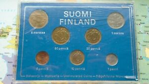 FINLAND COINSET 1974