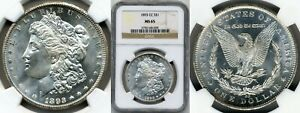 Click now to see the BUY IT NOW Price! 1893 CC MORGAN $1 NGC MS65  GEM