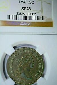 Click now to see the BUY IT NOW Price! 1796 25C NGC XF45