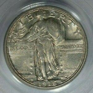 Click now to see the BUY IT NOW Price! 1916 25C STANDING LIBERTY PCGS MS65 FH
