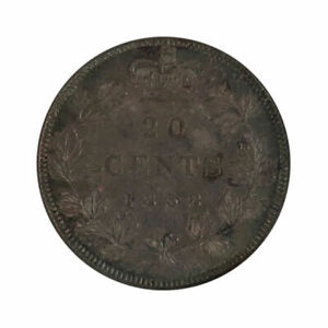 Click now to see the BUY IT NOW Price! 1858 CANADA 20 CENT COIN   NGC MS62