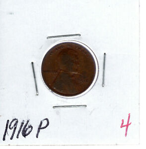 1916P LINCOLN CENT  4
