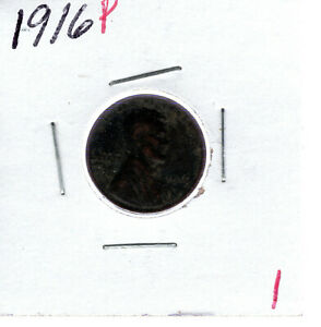 1916P LINCOLN CENT  1