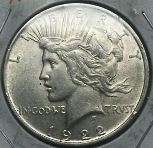 Click now to see the BUY IT NOW Price! 1922 D PEACE DOLLAR   BIG SILVER