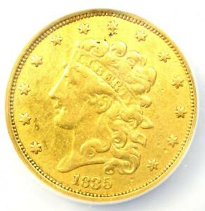 1835 CLASSIC GOLD HALF EAGLE $5 COIN   NGC GENUINE    TYPE   XF DETAILS