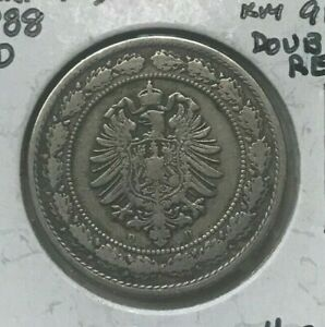 Click now to see the BUY IT NOW Price! 1888 D GERMANY 20 PFENNIG