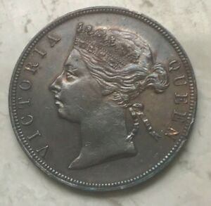 Click now to see the BUY IT NOW Price! 1889 BRITISH HONDURAS CENT   GREAT COPPER