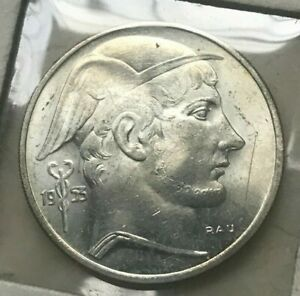 Click now to see the BUY IT NOW Price! 1953 BELGIUM 20 FRANCS   SILVER UNCIRCULATED   BELGIE
