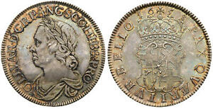 Click now to see the BUY IT NOW Price! ENGLAND OLIVER CROMWELL 1658/7 AR CROWN. NGC MS64 KM D207; SCBC 3226.