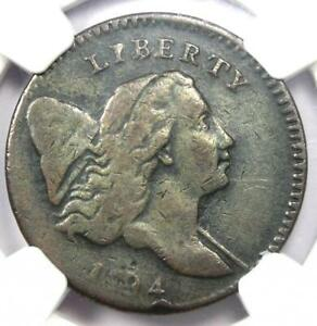 1794 LIBERTY CAP FLOWING HAIR HALF CENT 1/2C COIN  C 3A R5 VARIETY    NGC VF20