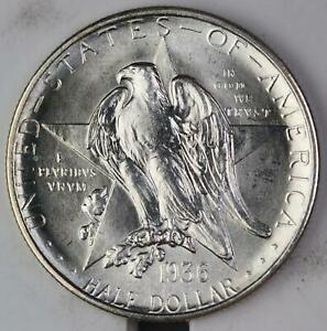 1936 S TEXAS SILVER COMMEMORATIVE HALF DOLLAR UNCIRCULATED 110841