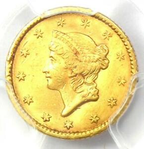 1853 LIBERTY GOLD DOLLAR COIN G$1   CERTIFIED PCGS XF DETAILS    COIN