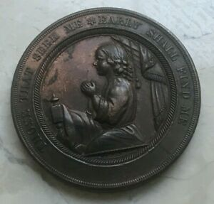 Click now to see the BUY IT NOW Price! THOSE THAT SEEK ME EARLY SHALL FIND ME BRONZE MEDAL