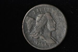 1794 LIBERTY CAP 1/2C HALF CENT /L17