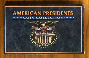 AMERICAN PRESIDENTS COIN COLLECTION US MINT SEALED IN PLASTIC WITH ORIGINAL BOX