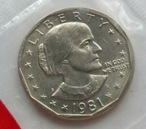 1981 S SUSAN B ANTHONY DOLLAR US MINT UNC