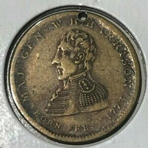 Click now to see the BUY IT NOW Price! 1840 WILLIAM HENRY HARRISON POLITICAL MEDAL   THE PEOPLE'S CHOICE
