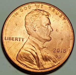 2018 D LINCOLN SHIELD PENNY  OBVERSE & REVERSE RING PLANCHET ERROR COIN