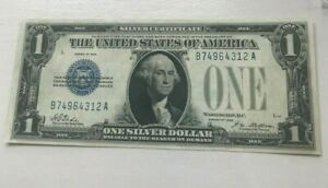 Click now to see the BUY IT NOW Price! SERIES 1928 $1 ONE DOLLAR SILVER CERTIFICATE      AU/UNC